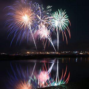 pismo pier fireworks